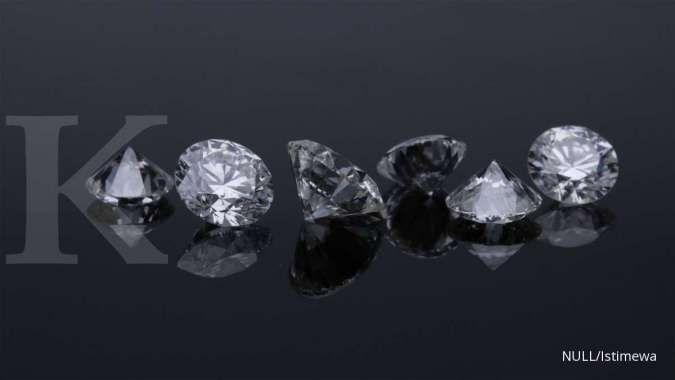 Produsen terbesar berlian kerek harga berlian tertinggi sejak pandemi