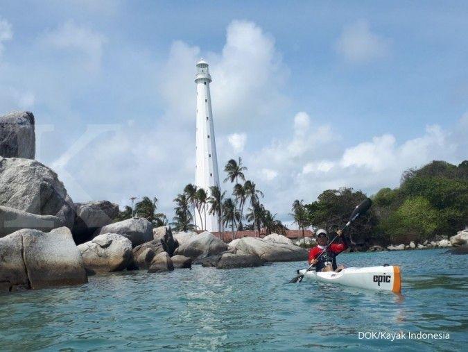 Kempar mengendepankan pengembangan Geopark Belitung
