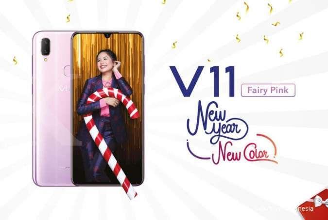 Harga HP Vivo V11 dibanderol mulai Rp 3 jutaan, banyak pilihan warna