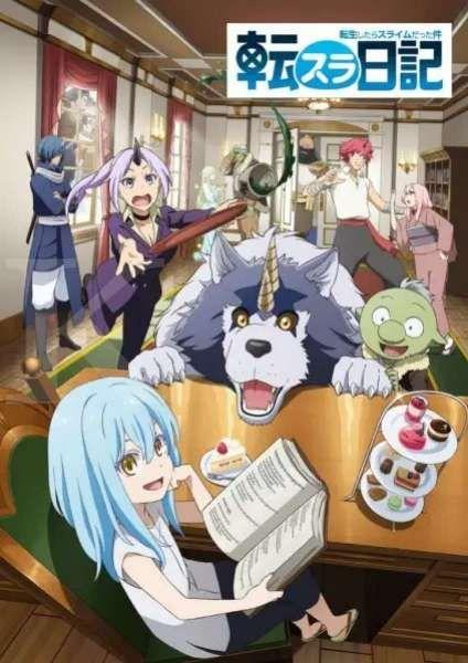 Anime Tensura Nikki: Tensei shitara Slime Datta Ken