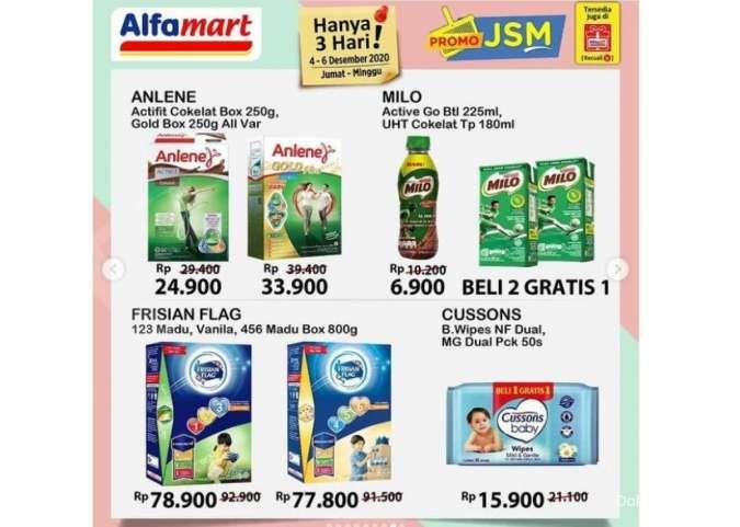 Promo JSM Alfamart Promo 4-6 Desember 2020