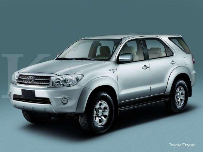 Harga mobil bekas Toyota Fortuner