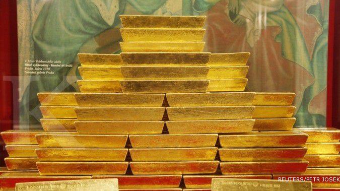 Emas dibayangi pertemuan The Fed
