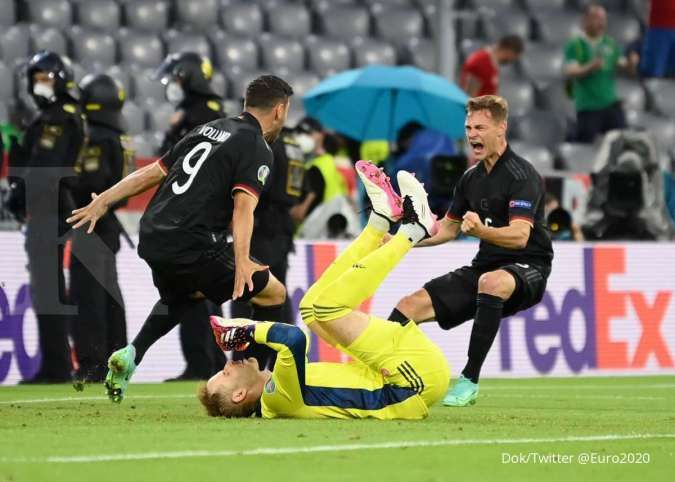 Hasil Euro 2020 Jerman vs Hungaria di Grup F