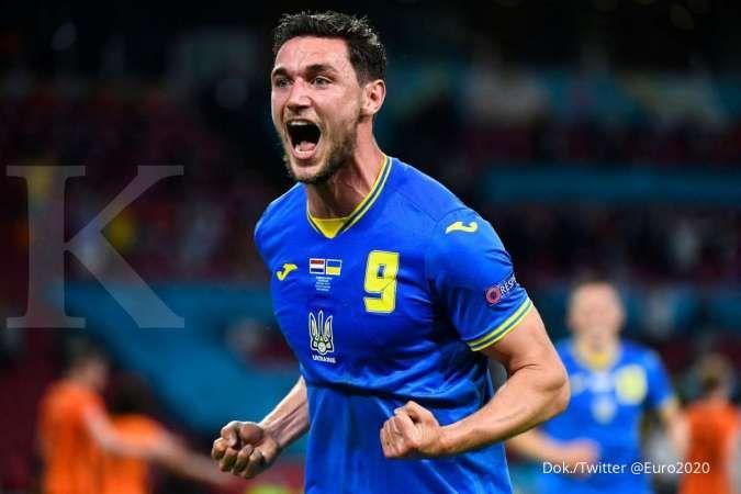 Jadwal Euro 2020 menyajikan Ukraina vs Austria di Grup C
