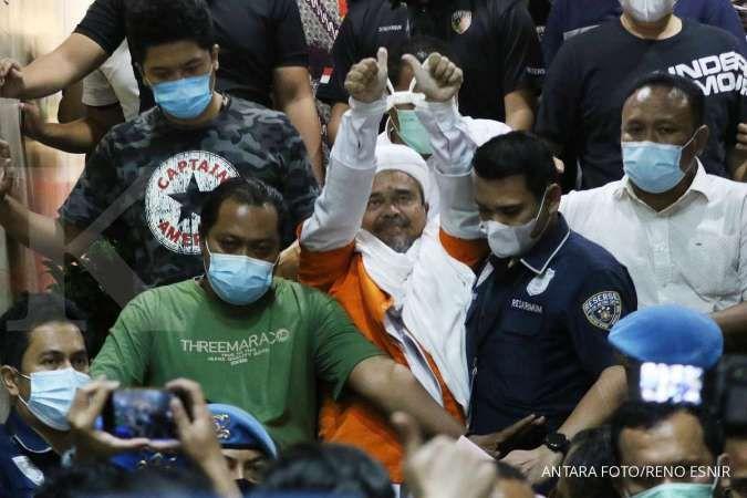 Ditahan 20 hari, Rizieq Shihab huni Rutan Narkoba Polda Metro Jaya