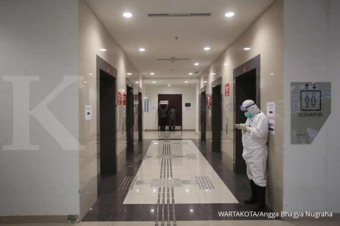 Dari total kasus aktif virus corona di Jakarta, 50% adalah orang tanpa gejala