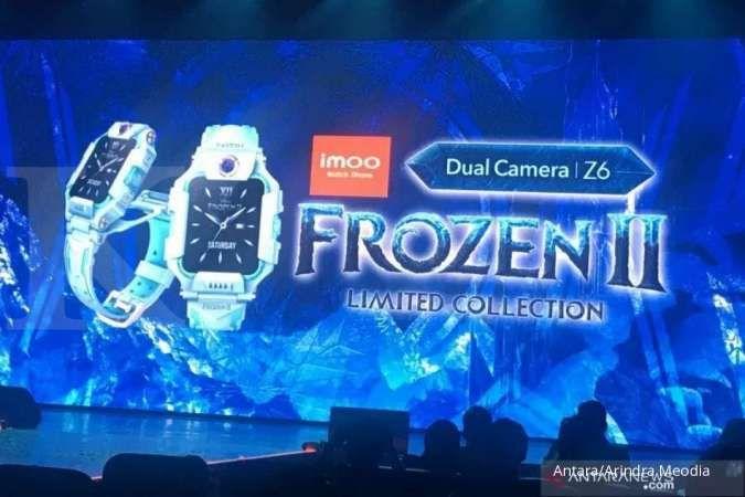 Harga Imoo Z6 Frozen II Rp 3 jutaan, jam tangan anak ini banyak dicari