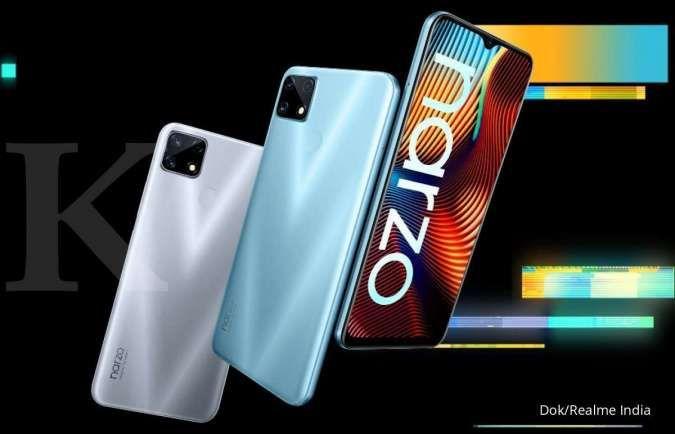 Rilis di Indonesia 5 November 2020, ini spesifikasi dan harga Realme Narzo 20