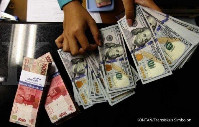 Berotot, rupiah spot ditutup menguat ke Rp 14.463 per dolar AS pada hari ini (30/7)
