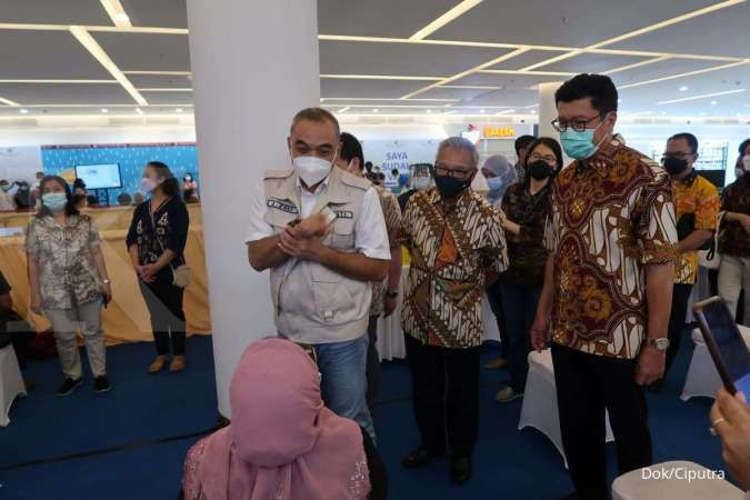 Vaksinasi digelar di Mal Ciputra Tangerang, 3.000 lansia ditargetkan ikut serta