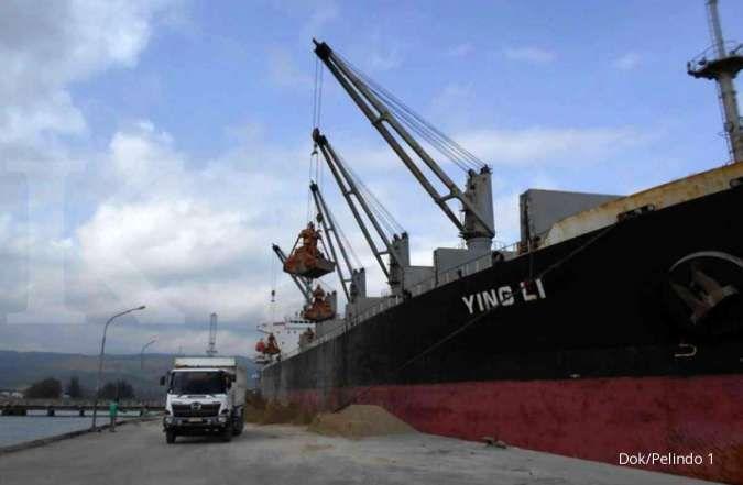Pelindo I ekspor perdana pozzolan sebanyak 28.000 ton ke Bangladesh