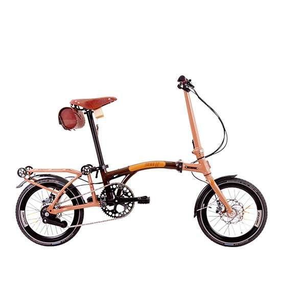 Elegan, harga sepeda lipat United Trifold 11S LE bikin kepala pusing