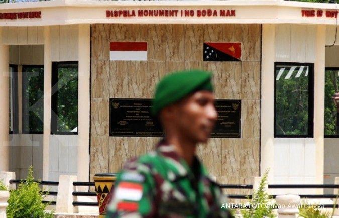 Pembangunan jalan perbatasan Indonesia–Papua Nugini dikebut