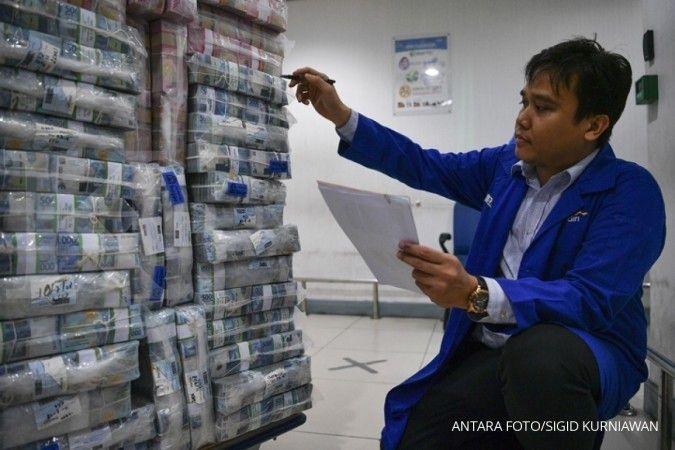 Permintaan kredit lesu, bank pilih parkir dana di surat berharga