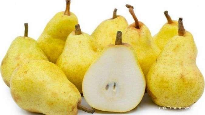 Ini manfaat buah pir untuk kesehatan