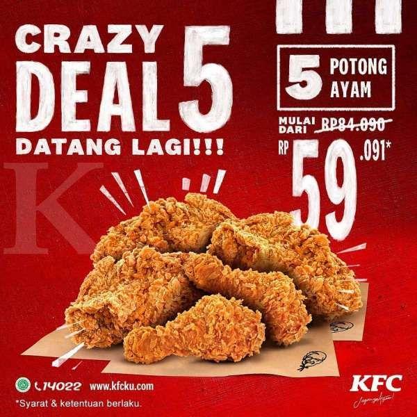 Promo KFC 14-20 September 2020