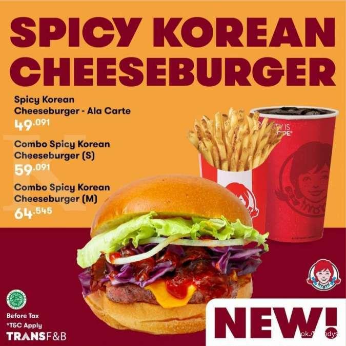Promo Wendys Spicy Korean