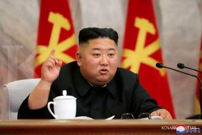 Korea Utara mengaku memiliki pencegah perang yang andal dan efektif untuk pertahanan diri. KCNA via REUTERS