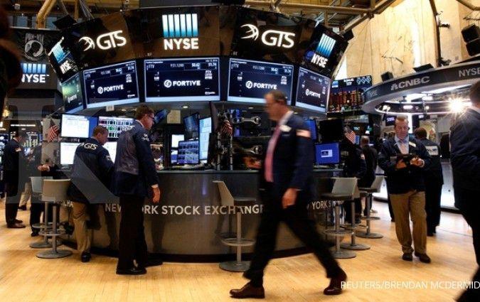 Meski naik tipis, Wall Street toreh rekor baru
