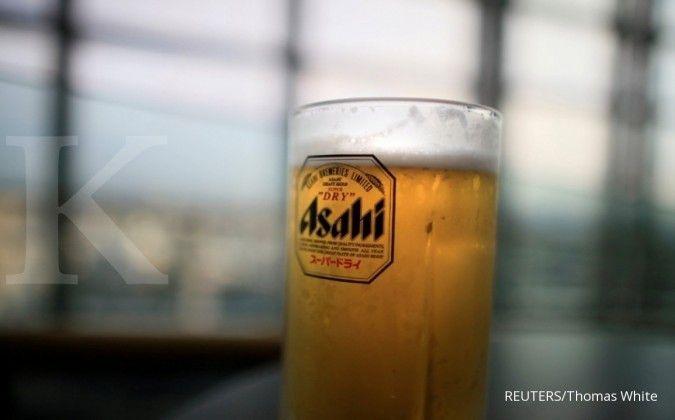 Duh, virus corona buat laba operasi produsen bir Asahi anjlok 45%