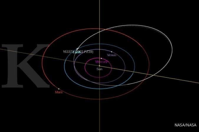 Asteroid berukuran cukup besar akan melintasi Bumi, berbahayakah?