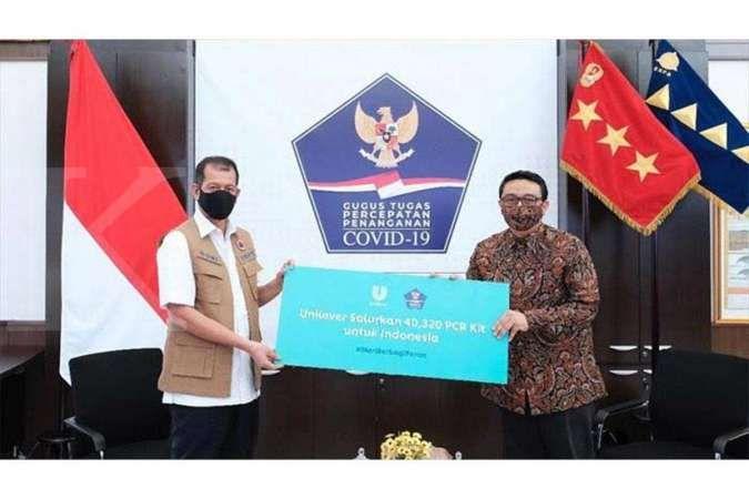 Unilever Indonesia Gotong Royong Bantu Pemerintah Atasi Pandemi