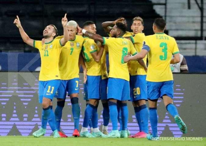 Jadwal Copa America 2021 Brasil vs Chile: Adu gengsi Selecao jumpa skuad La Roja