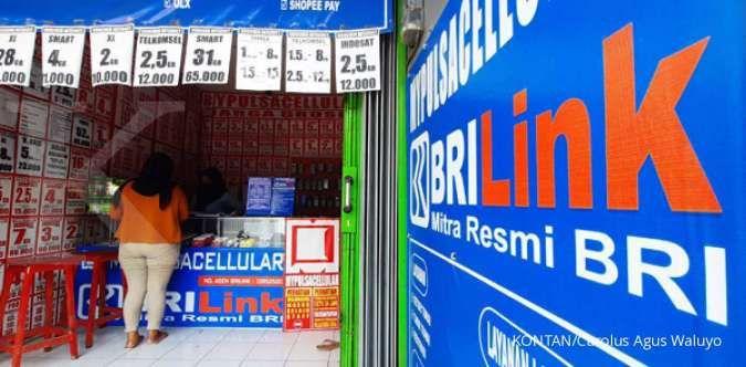 Agen laku pandai Bank Rakyat Indonesia sudah salurkan kredit hingga Rp 3,5 triliun