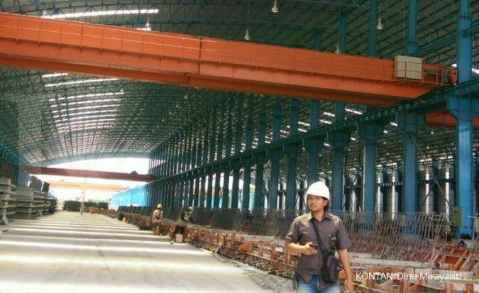 Marak pembangunan infrastruktur, Waskita Beton (WSBP) patok kenaikan utilisasi pabrik