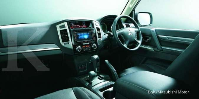 Interior Mitsubishi Pajero hanya ada 800 unit di seluruh dunia
