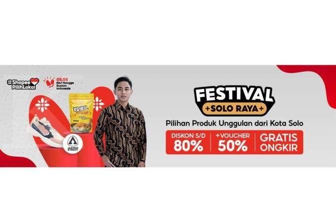 Dukung UMKM Solo, Shopee Hadirkan Kampanye Festival Solo Raya