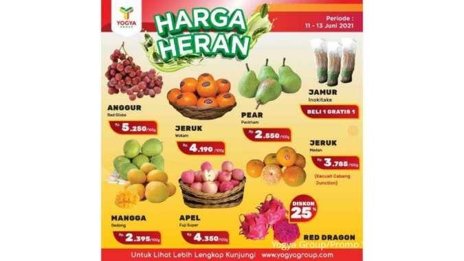 Promo JSM Yogya Supermarket Harga Heran 12 Juni 2021, diskonan akhir pekan!