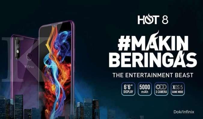Harga HP Infinix Hot 8 terbaru, dibekali RAM 3GB dan baterai 5.000 mAh