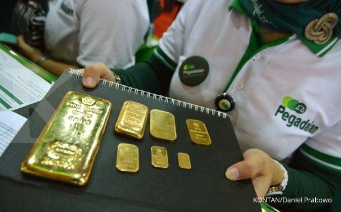 Harga emas Antam dan UBS siang ini di Pegadaian, Rabu 9 Juni 2021