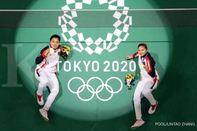 Juara Olimpiade, Greysia Polii/Apriyani dapat tabungan reksadana dari Bareksa dan OVO