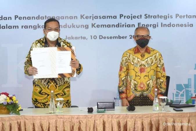 Pertamina, PTBA, APCI teken amandemen perjanjian, proyek gasifikasi batubara lanjut