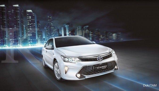 Dua pilihan di lelang mobil dinas Toyota New Camry, harga penawaran Rp 50-an juta