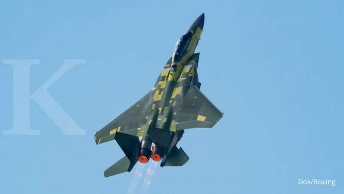 Gandeng perusahaan Israel, Boieng akan lengkapi jet F-15 dengan sistem anti-jamming