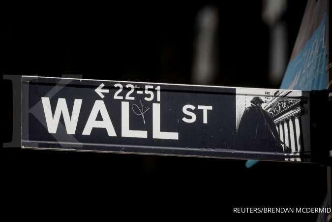 Wall Street dibuka melemah karena data inflasi yang kuat dibanding perkiraan