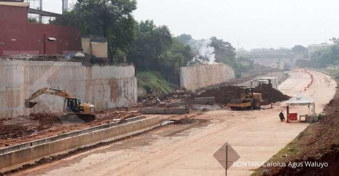 Sejumlah proyek ruas jalan Tol Jasa Marga (JSMR) ditargetkan akan rampung tahun ini