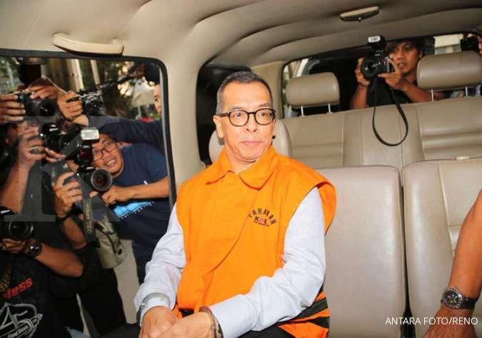KPK tahan eks dirut Garuda Emirsyah Satar dan pengusaha Soetikno