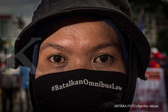 Hari ini, buruh unjuk rasa tolak omnibus law dan tuntut kenaikan UMP
