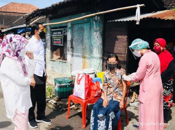 vaksinasi corona di Indonesia