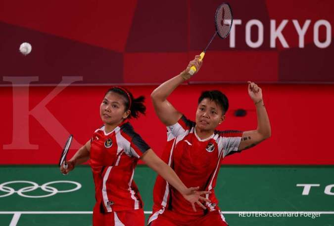 Jadwal Olimpiade Tokyo 2020 hari ini ada badminton Apriyani Rahayu and Greysia Polii