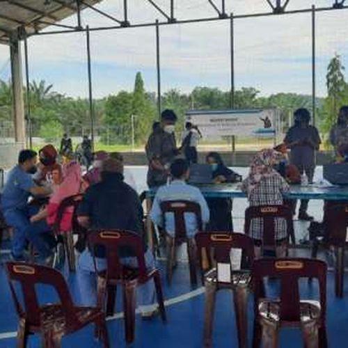 Proyek Strategis Nasional PLTA Asahan 3 di Sumatera Utara Kejar Target, 1.500 Pekerja PLN Jalani Vaksinasi
