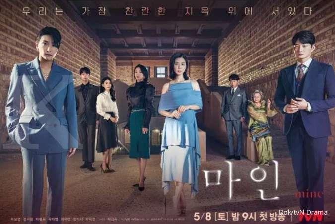Drakor Mine raih rating tinggi di akhir pekan, kalahkan drama Korea terbaru TV Chosun
