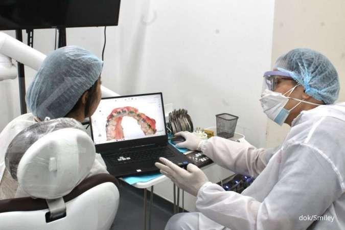 Era digital, merapikan gigi kini memanfaatkan kecerdasan buatan
