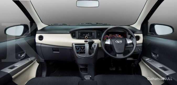 Harga mobil bekas Daihatsu Sigra mulai Rp 70 jutaan (Interior Sigra)