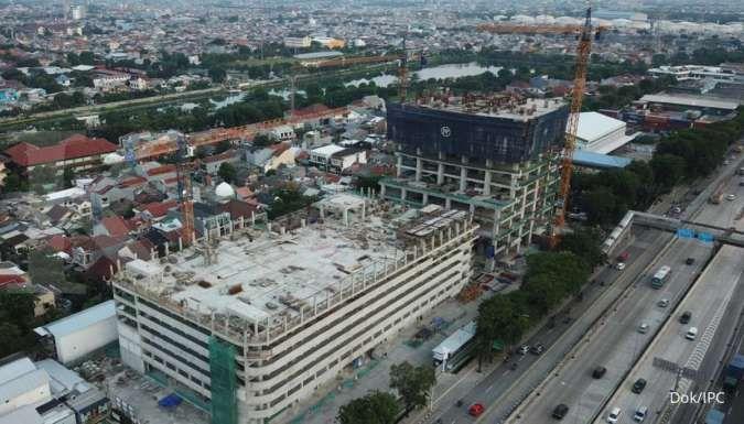 Pembangunan Proyek Maritime Tower Capai 50,67%